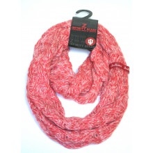 Indiana Hoosiers Chunky Duo Knit Infinity Scarf
