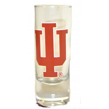 Indiana Hoosiers 2 oz Cordial Shot Glass