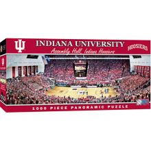 Indiana Hoosiers 1000 pc. Panoramic Puzzle
