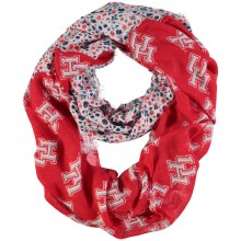 NCAA Houston Cougars Floral Infinity Scarf