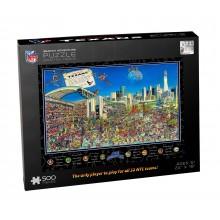 Houston Texans  Joe Journeyman 500 pc. Puzzle