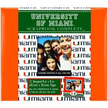 "Miami Hurricanes 8"" X 8"" Complete Scrapbook Kit"