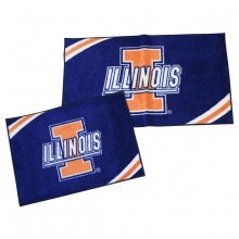Illinois Fignting Illini 2 Piece Rectangular Rug Set