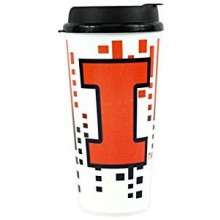 Illinois Fignting Illini 32-ounce Single Wall Hype Tumbler