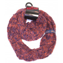 Illinois Fignting Illini Chunky Duo Knit Infinity Scarf