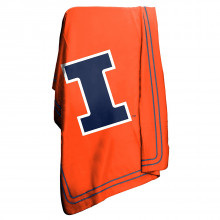 Illinois Fignting Illini Classic Fleece Throw Blanket