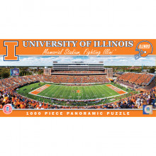 Illinois Fignting Illini 1000 pc. Panoramic Puzzle