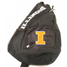 Illinois Fignting Illini Sideswipe Sling Backpack