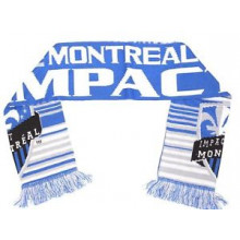 MLS Officially Licensed Impact Montreal Double Sided Fringe Scarf