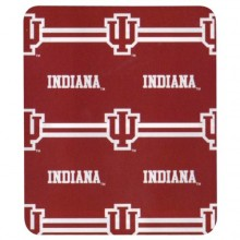 Indiana Hoosiers 3- Bar Fleece Throw Blanket