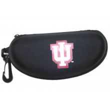 Indiana Hoosiers Semi Hard Zip Up Sunglass  Case