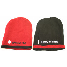 Indiana Hoosiers Embroidered Reversible Beanie Hat