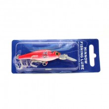 Cleveland Indians Minnow Crankbait Fishing Lure