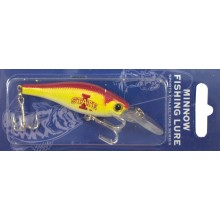Iowa State Cyclones Minnow Crankbait Fishing Lure