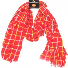 NCAA Licensed Iowa State Cyclones Plaid Oblong Scarf