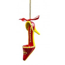 Iowa State Cyclones High Heeled Shoe Ornament
