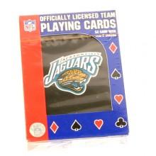 Jacksonville Jaguars Team Playing Cards