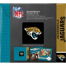 "Jacksonville Jaguars 8"" X 8"" Complete Scrapbook"