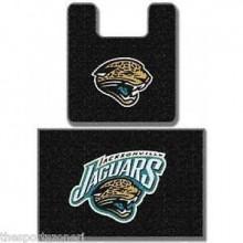 Jacksonville Jaguars Two (2) Piece Bathroom Rug Set