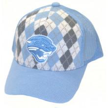 Jacksonville Jaguars Argyle Adjustable Hat Cap Lid
