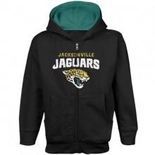Jacksonville Jaguars Youth Full Zip Hoodie Jacket (Med 10/12)
