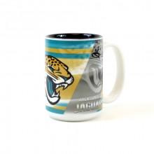 Jacksonville Jaguars 15oz Shadow Ceramic Mug