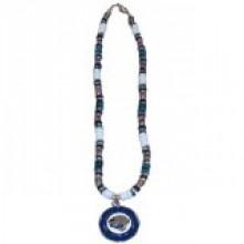 Jacksonville Jaguars Shell Necklace, 18-Inch, White