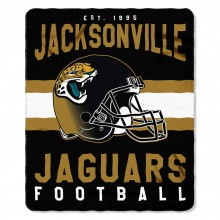 "Jacksonville Jaguars 50"" x 60"" Singular Fleece Throw Blanket"