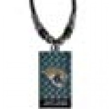 Jacksonville Jaguars Diamond Plate Rope Necklace, 20-Inch