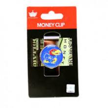 Kansas Jayhawks Dome Money Clip