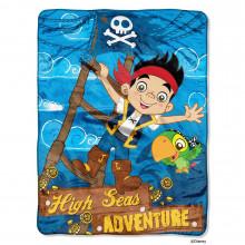 "Captain Jake ""High Seas Adventure"" Super Plush Fleece Blanket"