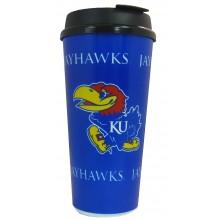 Kansas Jayhawks Team Color 32-ounce Single Wall Tumbler