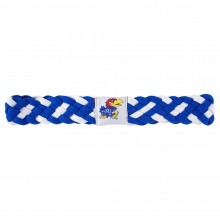 Kansas Jayhawks Braided Headband