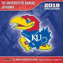 Kansas Jayhawks 12 x 12 Wall Calendar (2019)