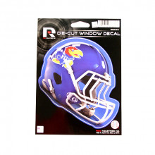 "Kansas Jayhawks 6"" Helmet Die-Cut Window Decal"