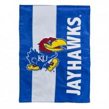 Kansas Jayhawks Embellish Garden Flag