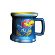 Kansas Jayhawks 2 oz Mini Mug Shot Glass