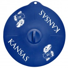 "Kansas Jayhawks 9"" Silicone Lid"
