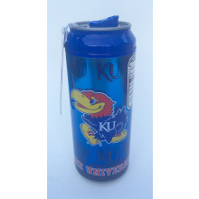 Kansas Jayhawks Cool Gear 16 oz  Insulated Travel Drink Can