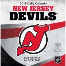 New Jersey Devils 2019 Boxed Desk Calendar