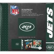 "New York Jets 8"" X 8"" Complete Scrapbook"