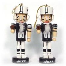 New York Jets 2 Pack Mini Nutcracker Ornaments