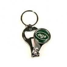 New York Jets 3-in-1 Nailclipper Keychain
