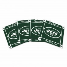 New York Jets 4-Pack Ceramic Coasters