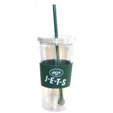 New York Jets 22 oz Slogan Tumbler