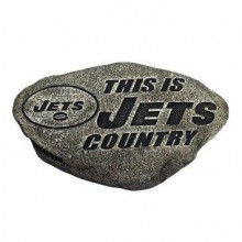 """NFL Licensed New York Jets """"Country Stone"""" Garden Stone"""