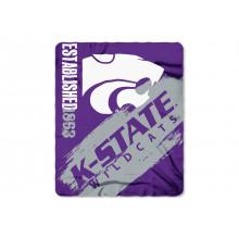 Kansas State Wildcats  Established  Fleece Throw Blanket