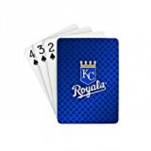 Kansas City Royals Diamond Plate Playing Cards