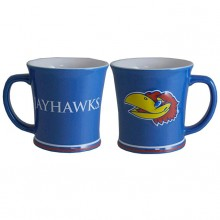 Kansas Jayhawks 15oz Ceramic Relief Mug