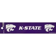 """Kansas State Wildcats 2"""" X 10"""" Bumper Sticker"""